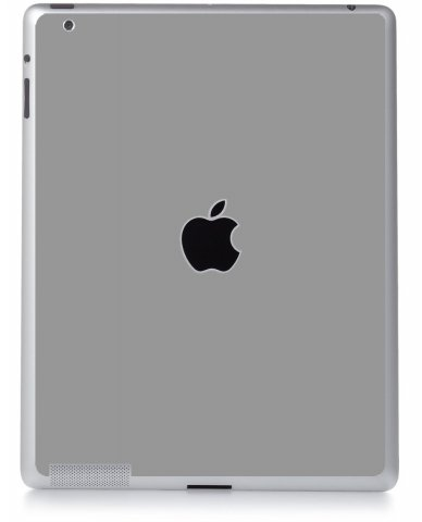 GREY SILVER Apple iPad 2 A1395 SKIN