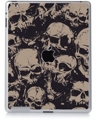GRUNGE SKULLS Apple iPad 2 A1395 SKIN