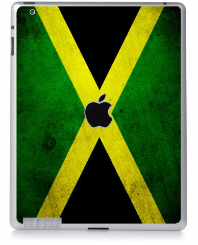 JAMAICAN FLAG Apple iPad 2 A1395 SKIN