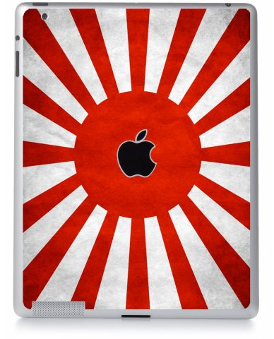 JAPANESE FLAG Apple iPad 2 A1395 SKIN