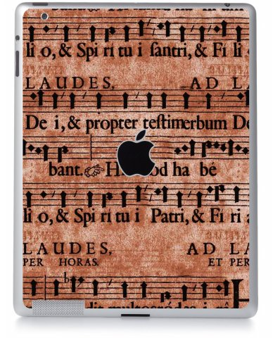 LATIN SHEET MUSIC Apple iPad 2 A1395 SKIN