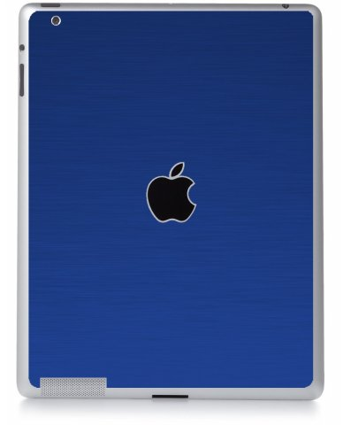 MTS TEXTURED BLUE Apple iPad 2 A1395 SKIN