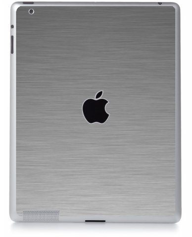 MTS#2 TEXTURED SILVER Apple iPad 3 A1416 SKIN