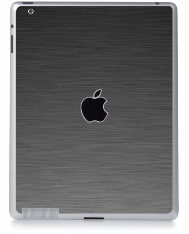 MTS#3 TEXTURED GUN METAL Apple iPad 2 A1395 SKIN