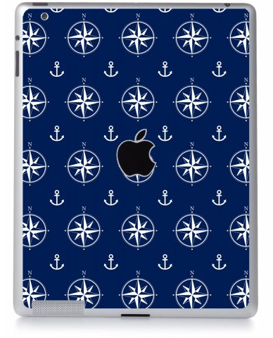 NAUTICAL ANCHORS Apple iPad 2 A1395 SKIN