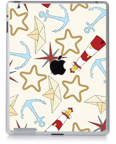 NAUTICAL LIGHTHOUSE Apple iPad 2 A1395 SKIN