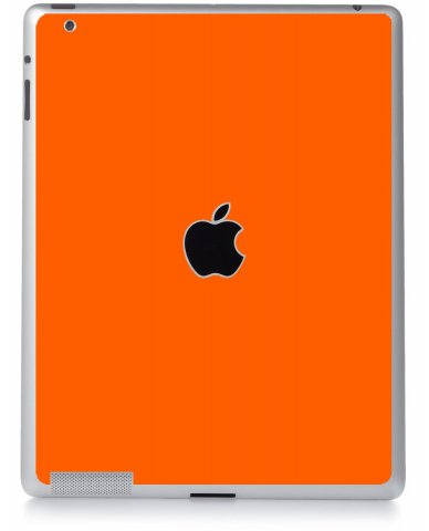 ORANGE Apple iPad 4 A1458 SKIN