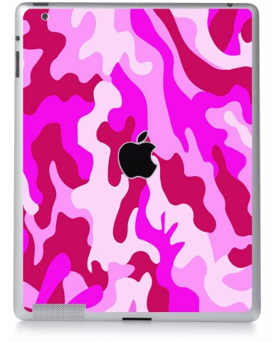 PINK CAMO Apple iPad 2 A1395 SKIN