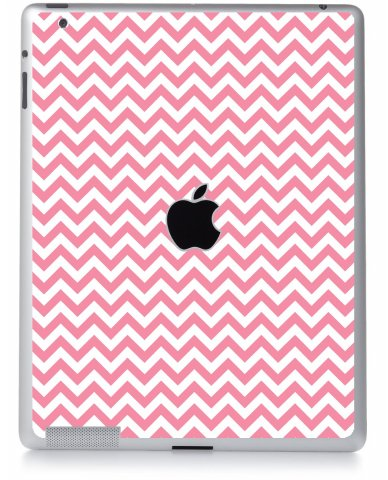 PINK CHEVRON Apple iPad 2 A1395 SKIN