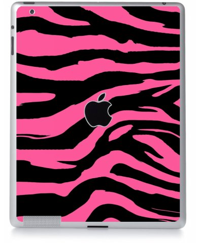 PINK ZEBRA Apple iPad 2 A1395 SKIN