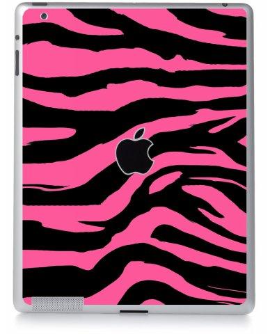 PINK ZEBRA Apple iPad 4 A1458 SKIN