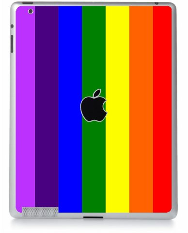 Pride Flag Apple iPad 4 A1458 Skin