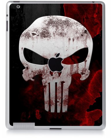 PUNISHER SKULL Apple iPad 2 A1395 SKIN