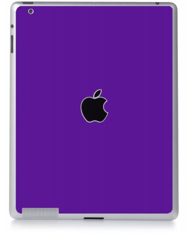 PURPLE Apple iPad 2 A1395 SKIN