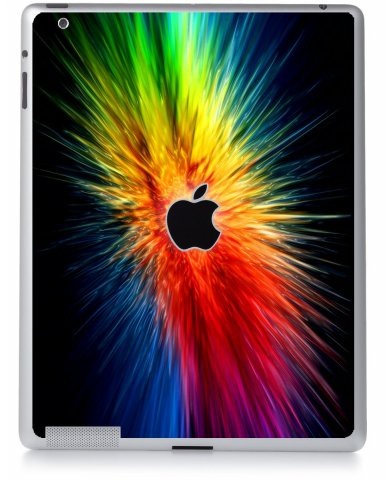 RAINBOW BURST Apple iPad 2 A1395 SKIN