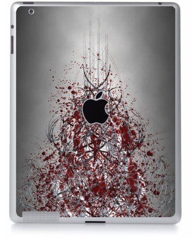 TRIBAL GRUNGE Apple iPad 2 A1395 SKIN