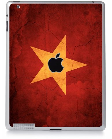 VIETNAM FLAG Apple iPad 4 A1458 SKIN