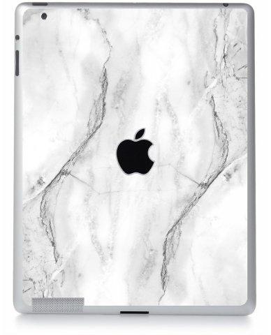 White Marble Apple iPad 4 A1458 Skin