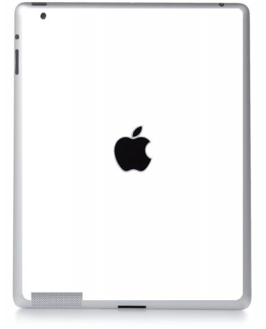 WHITE Apple iPad 2 A1395 SKIN