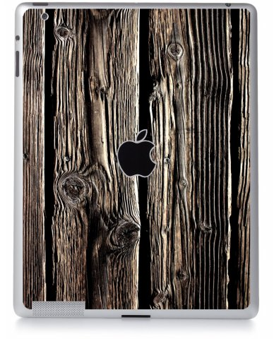 WOOD Apple iPad 2 A1395 SKIN