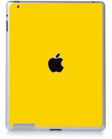 YELLOW Apple iPad 4 A1458 SKIN