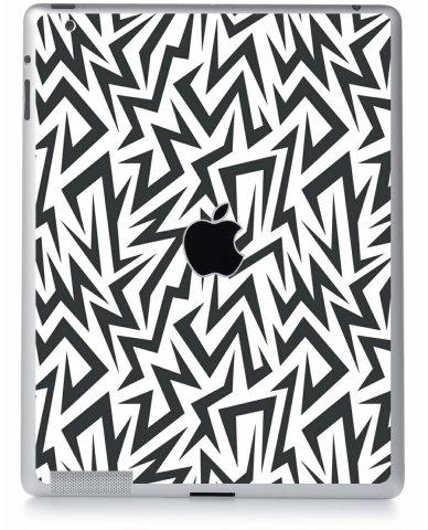 Ziggy Zaggy Shock Apple iPad 4 A1458 Skin