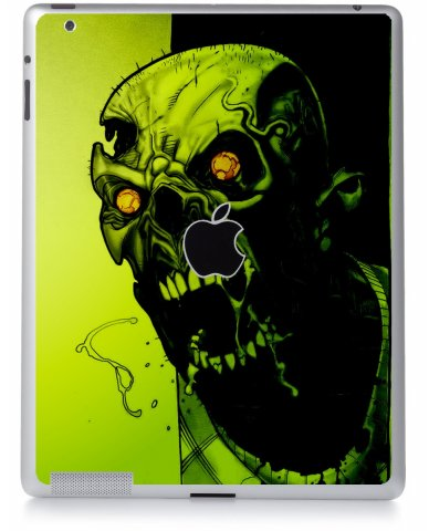 ZOMBIE FACE Apple iPad 2 A1395 SKIN