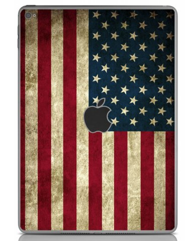 AMERICAN FLAG Apple iPad Air 2 A1566 SKIN