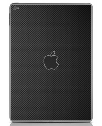 BLACK TEXTURED CARBON FIBER Apple iPad Air 2 A1566 SKIN