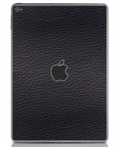 BLACK LEATHER Apple iPad Air 2 A1566 SKIN