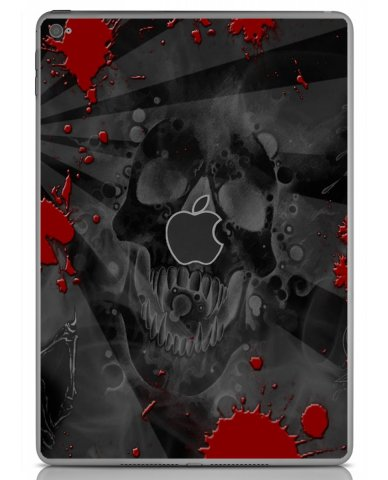 BLACK SKULL RED Apple iPad Air 2 A1566 SKIN