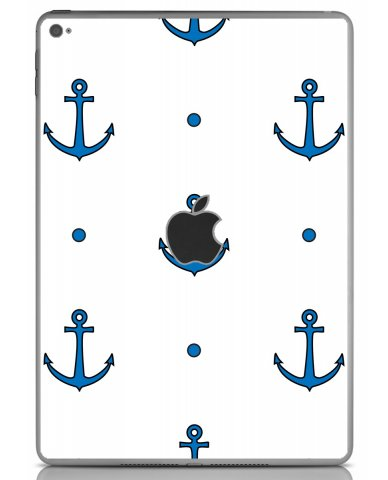 BLUE ANCHORS Apple iPad Air 2 A1566 SKIN