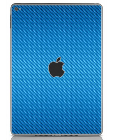 BLUE TEXTURED CARBON FIBER Apple iPad Air 2 A1566 SKIN