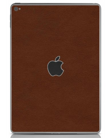 BROWN LEATHER Apple iPad Air 2 A1566 SKIN