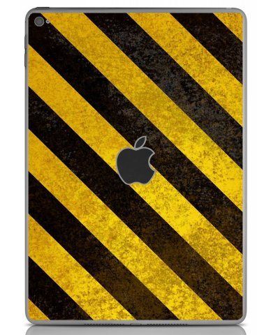 CAUTION STRIPES Apple iPad Air 2 A1566 SKIN