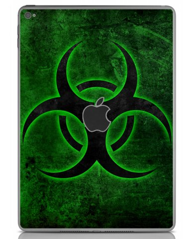 GREEN BIOHAZARD Apple iPad Air 2 A1566 SKIN