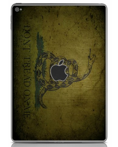 GREEN DONT TREAD ON ME Apple iPad Air 2 A1566 SKIN