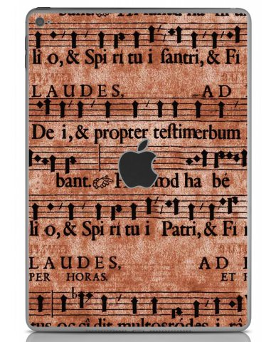 LATIN SHEET MUSIC Apple iPad Air 2 A1566 SKIN