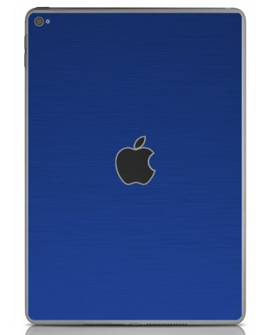 MTS TEXTURED BLUE Apple iPad Air 2 A1566 SKIN