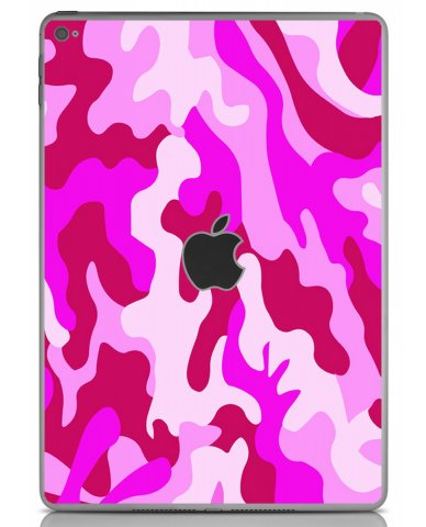 PINK CAMO Apple iPad Air 2 A1566 SKIN