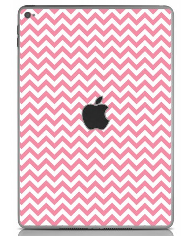 PINK CHEVRON Apple iPad Air 2 A1566 SKIN