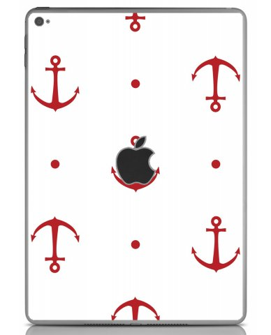 RED ANCHORS Apple iPad Air 2 A1566 SKIN