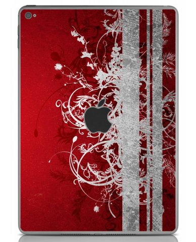 RED GRUNGE Apple iPad Air 2 A1566 SKIN