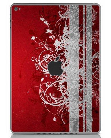 RED GRUNGE Apple iPad Air 2 A1566 SKIN