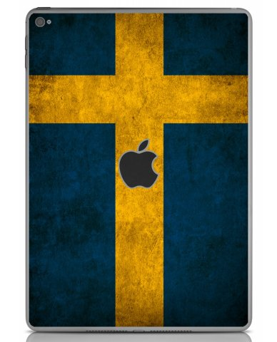 SWEDISH FLAG Apple iPad Air 2 A1566  LAPTOP SKIN