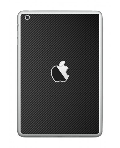 BLACK TEXTURED CARBON FIBER Apple iPad Mini A1432 SKIN