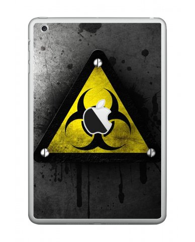 BLACK CAUTION Apple iPad Mini A1432 SKIN