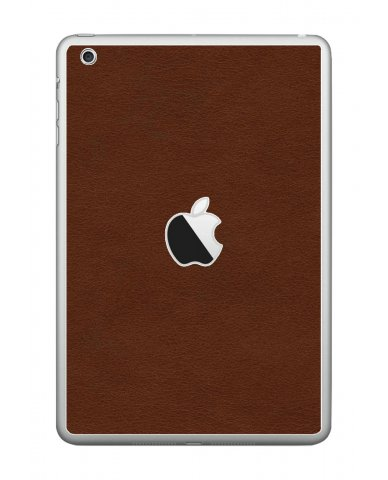 BROWN LEATHER Apple iPad Mini A1432 SKIN