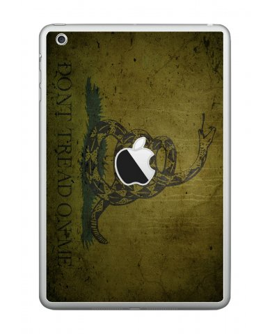 GREEN DONT TREAD ON ME Apple iPad Mini A1432 SKIN