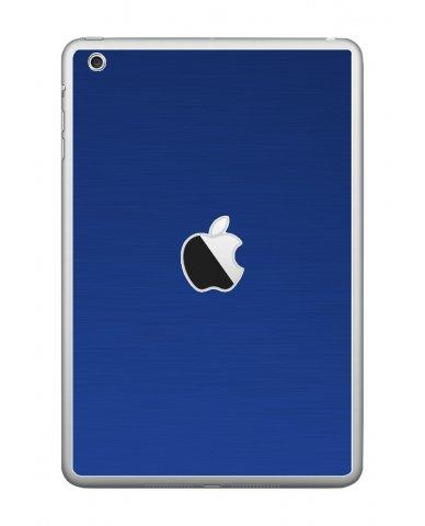 MTS TEXTURED BLUE Apple iPad Mini A1432 SKIN
